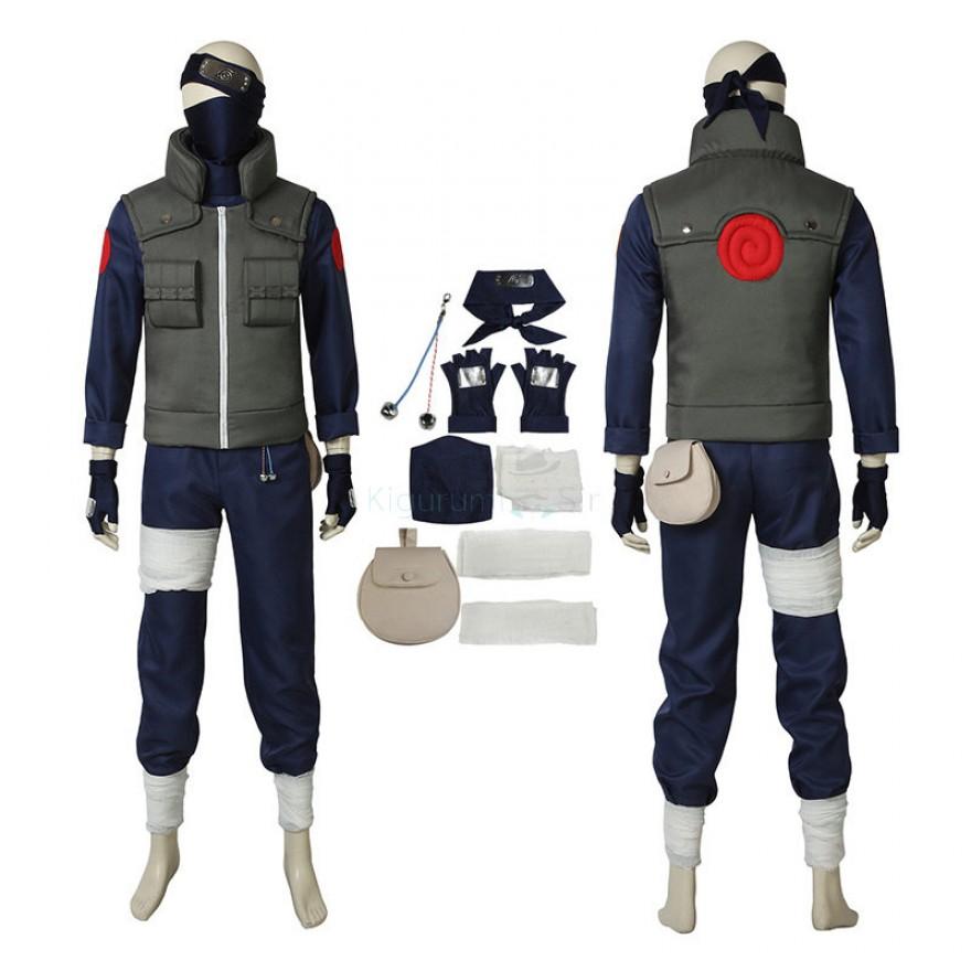 Naruto Ninja Kakashi Hatake Cosplay Costume