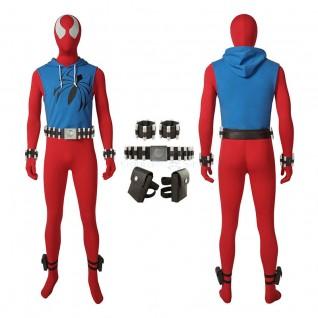 Scarlet Spider Man Ben Reily Cosplay Costume