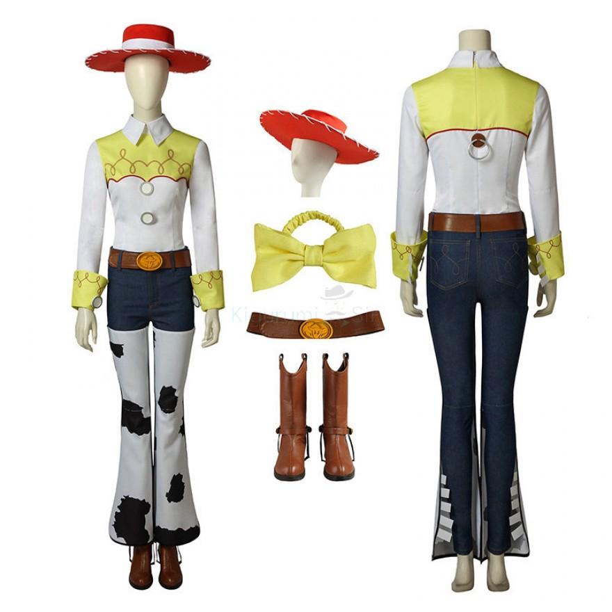 Toy Story Jessie Cosplay Costume