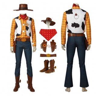 Toy Story Woody Cosplay Costume