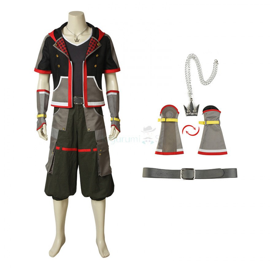 Kingdom Hearts 3 Sora Cosplay Costume