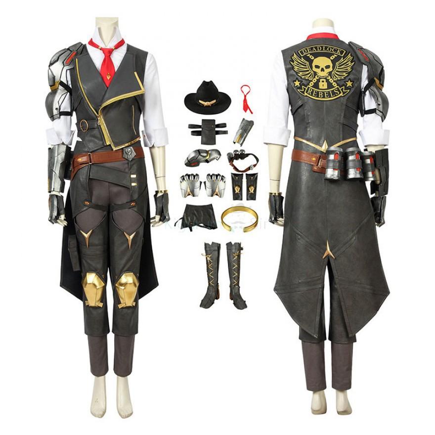Overwatch Ashe Halloween Cosplay Costume