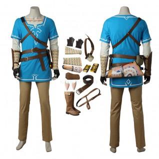 Link Costume The Legend of Zelda Breath of the Wild Cosplay Suits