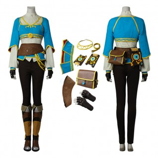 Princess Zelda Costume The Legend of Zelda Breath of the Wild Cosplay Suits
