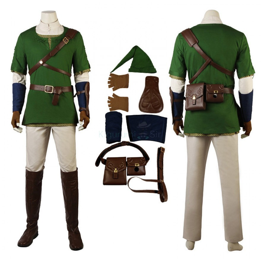 Link Costume The Legend Of Zelda Twilight Princess Cosplay Suits