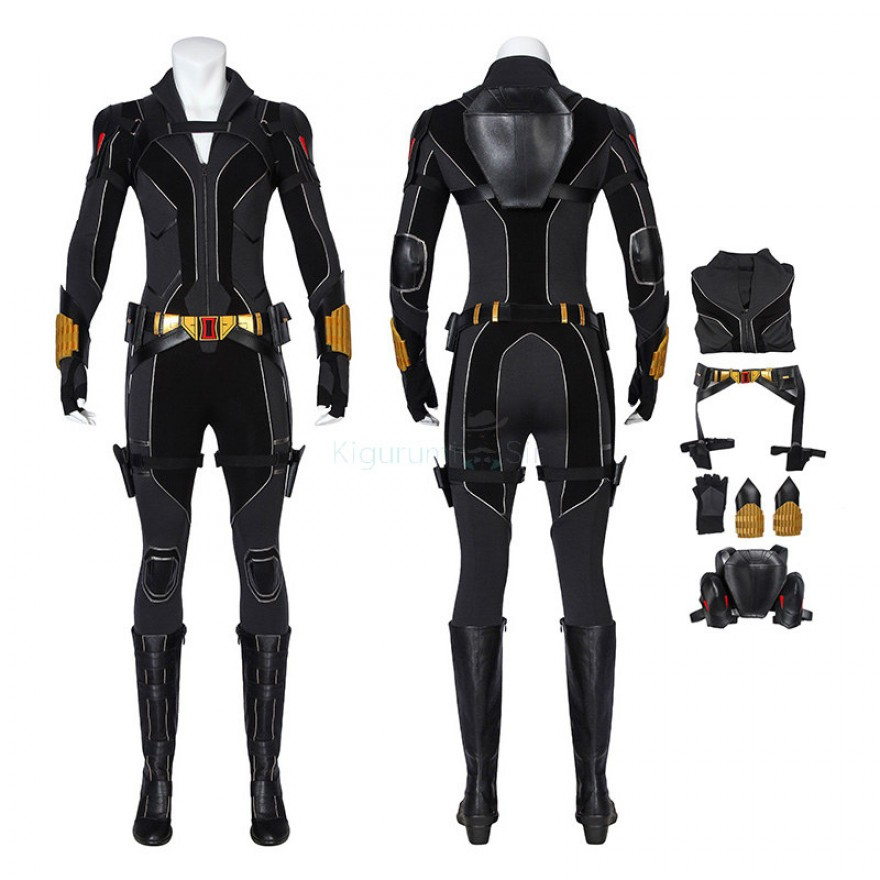 Black Window Cosplay Suits Natasha Romanoff Costume