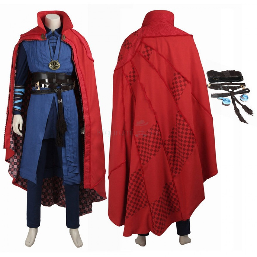 Stephen Vincent Costume Doctor Strange Cosplay Suits