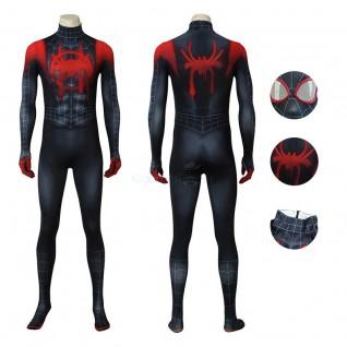 Adult Spiderman Jumpsuit Spider Man Miles Morales Cosplay Costume