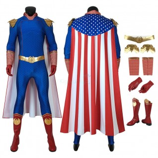 The Homelander Costume The Boys Season 1 Cosplay Suits