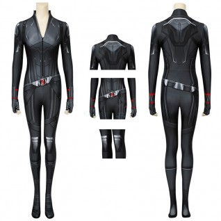 Avengers Endgame Black Widow Jumpsuit Natasha Romanoff Cosplay Costume