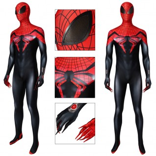 The Superior Spider-Man Cosplay Costume Spider-Man Jumpsuit