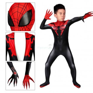 The Superior Spider-Man Cosplay Costume Spider-Man Jumpsuit for Kids