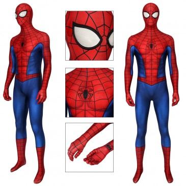 Spider-Man 3D Classic Suit Sipderman Cosplay Costume