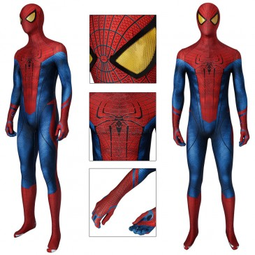 Spiderman Jumpsuit The Amazing Spider-Man Peter Parker Cosplay Costume