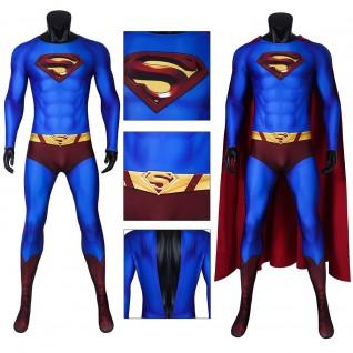 Superman Jumpsuit Superman Returns Clark Kent Cosplay Costume